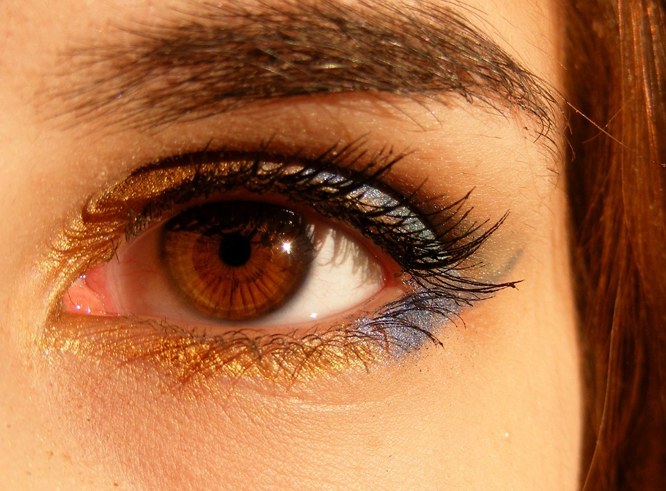 Brown Eyes Iris Eye Coloring Brown Light Gene