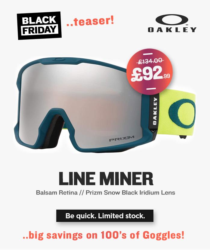 Black Friday - Oakley Snow Goggles