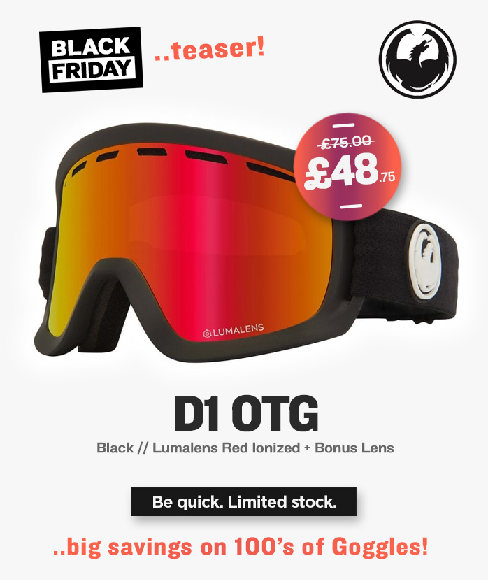 Black Friday - Dragon Snow Goggles