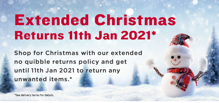 Christmas Returns Dec 2020
