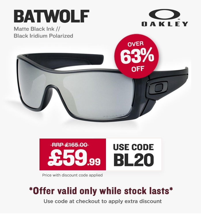 Cyber Deal - Oakley Batwolf Sunglasses