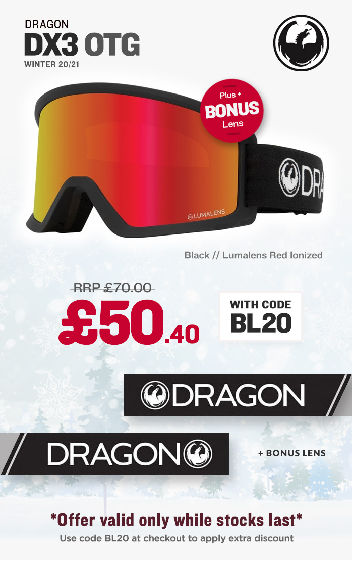 Cyber Deal - Dragon DX3 Snow Goggles