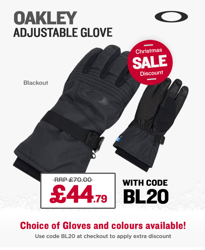 Christmas Sale - Oakley Gloves