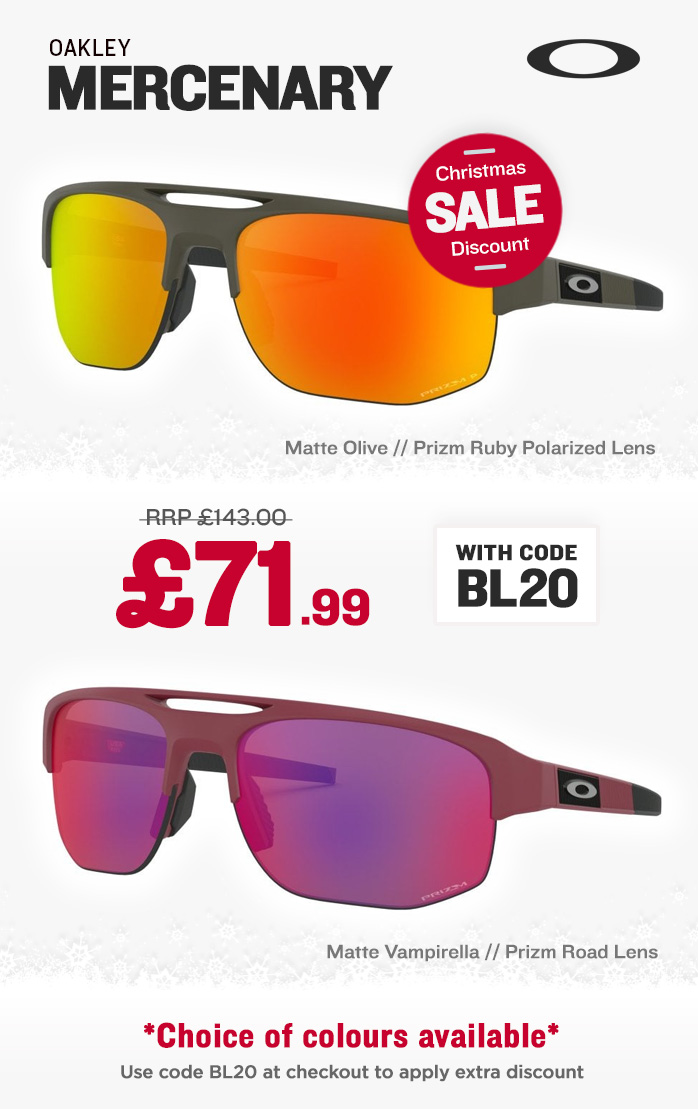 Christmas Sale - Oakley Mercenary