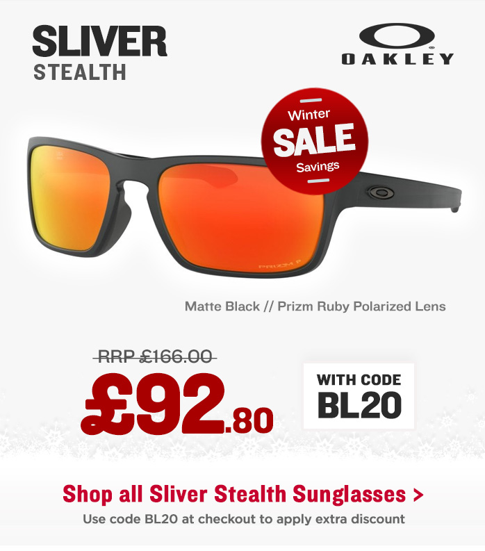 Winter Sale - Oakley Sliver Stealth