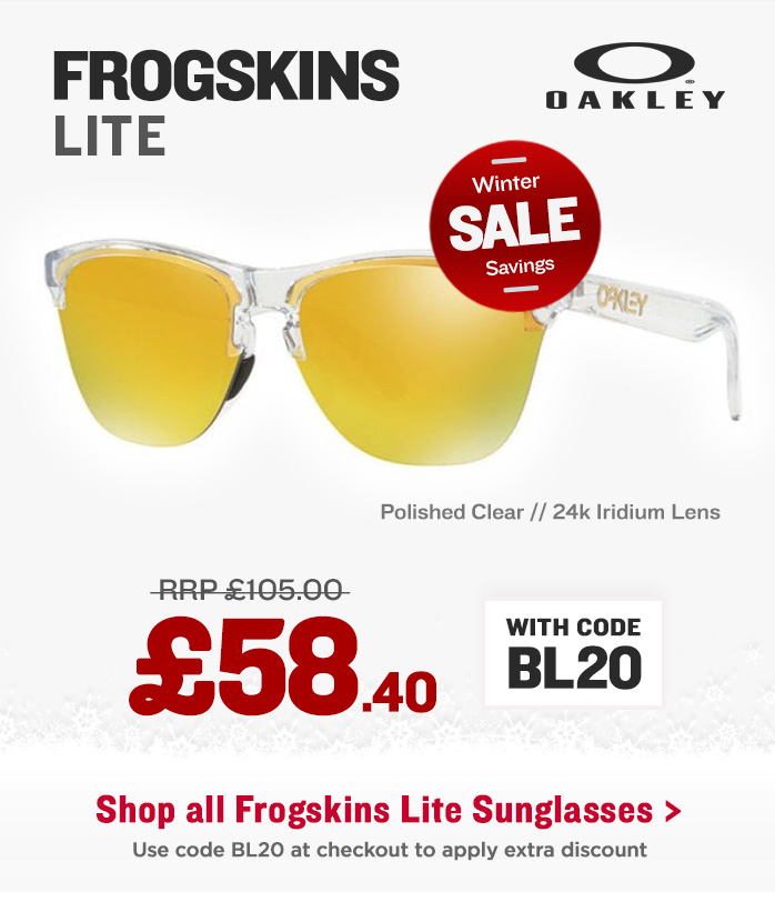 Winter Sale - Oakley Frogskins Lite