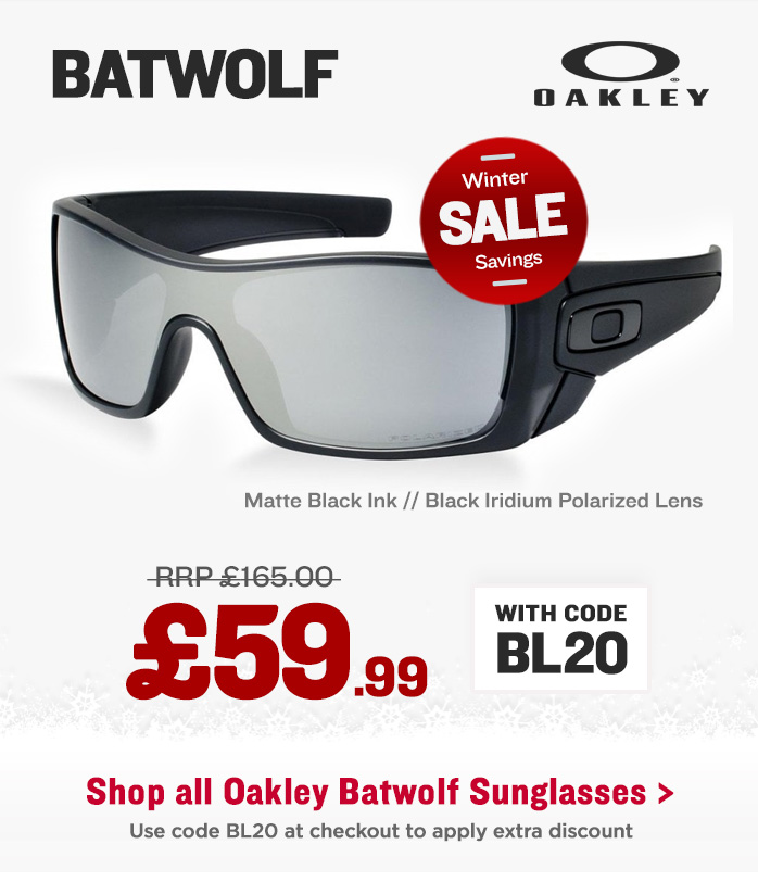 Winter Sale - Oakley Batwolf