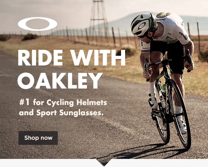 Oakley Cycling Helmets and Sunglasses