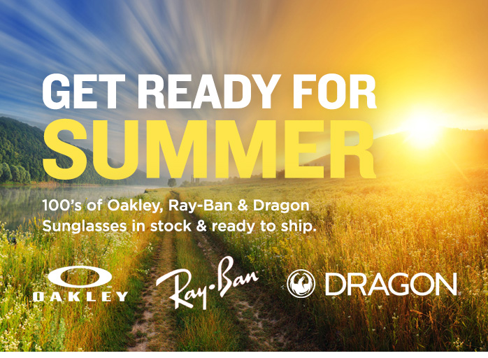 Oakley, Ray-Ban and Dragon Sunglases