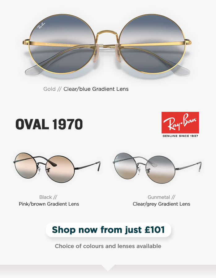 Ray-Ban Oval 1970