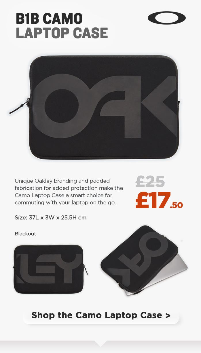 Oakley Camo Laptop Case