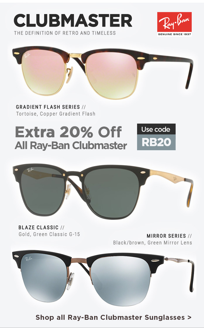 Ray-Ban Promotion | Newsletter Oct 2018