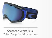 Aberdeen White Blue - Prizm Sapphire Iridium Lens