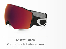 Matte Black - Prizm Torch Iridium Lens