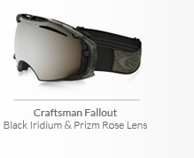 Craftsman Fallout - Black Iridium & Prizm Rose Lens