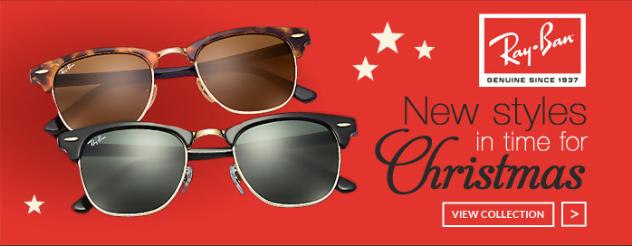 RayBan - New styles in time for Christmas