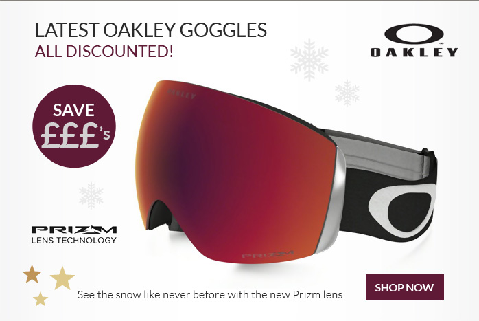 Latest Oakley Goggles