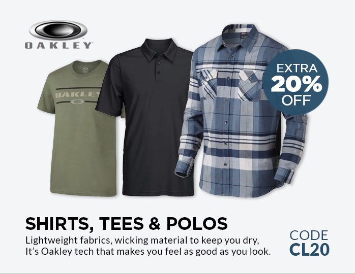 Oakley Tees Shirts and Polos