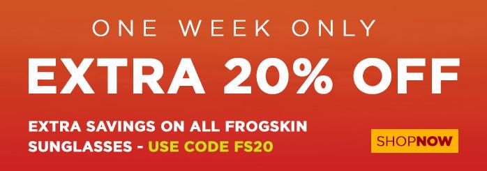 20% Off Oakley Frogskin Sunglasses