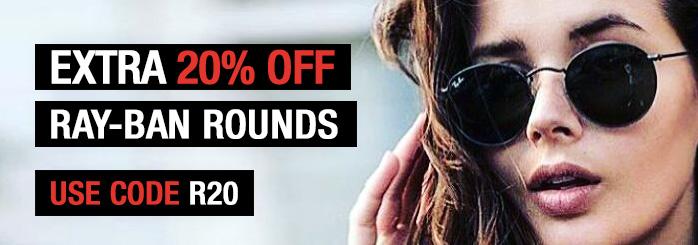 20% Off Sliver Sunglasses