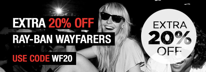 20% Off Ray-Ban Sunglasses