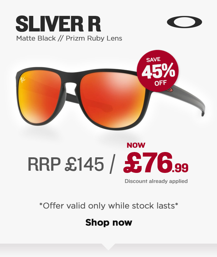 Oakley Sunglasses Sale - Sliver R