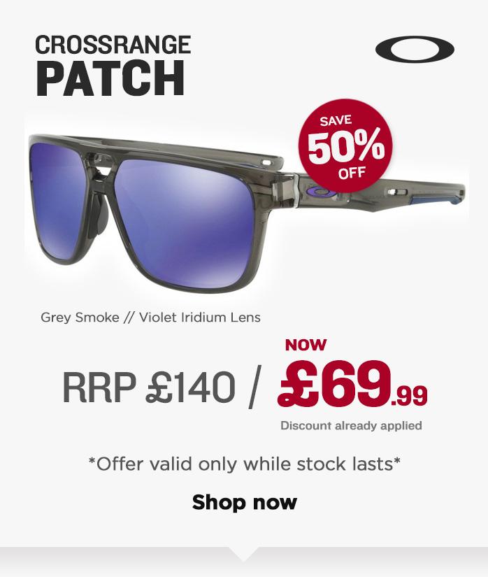 Oakley Sunglasses Sale - Crossrange Patch