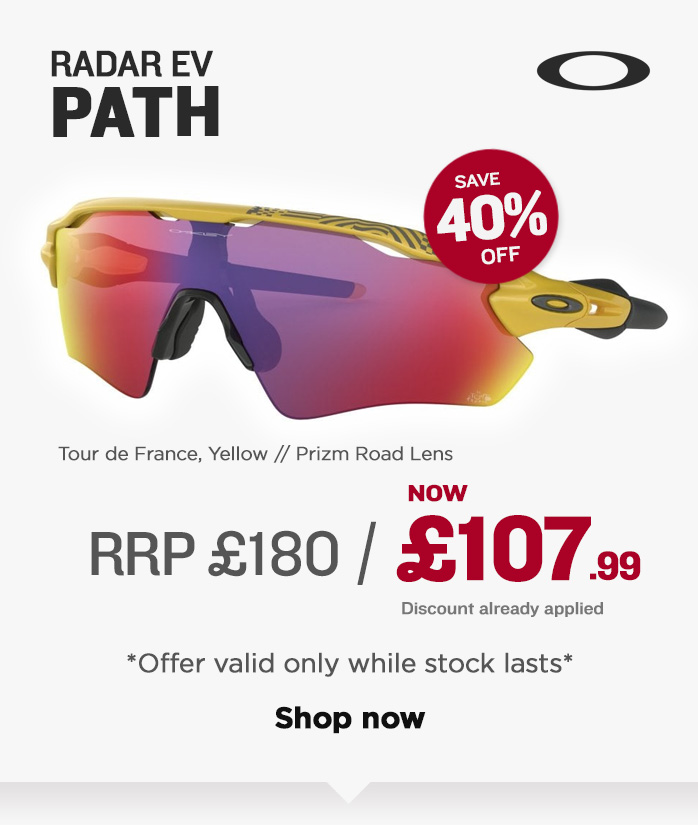 Oakley Sunglasses Sale - Radar EV Path