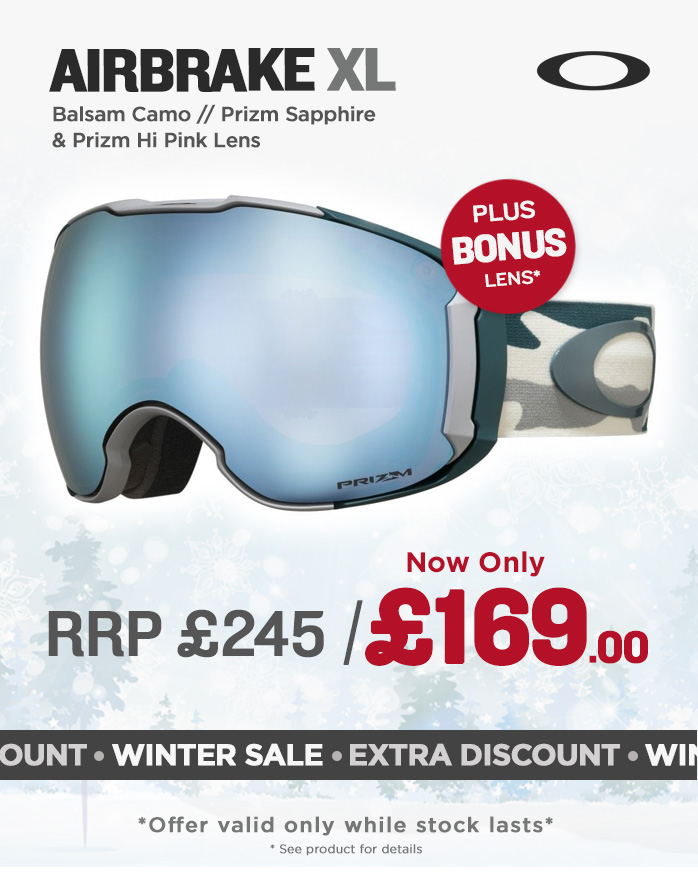 Oakley Goggle Sale - Airbrake XL