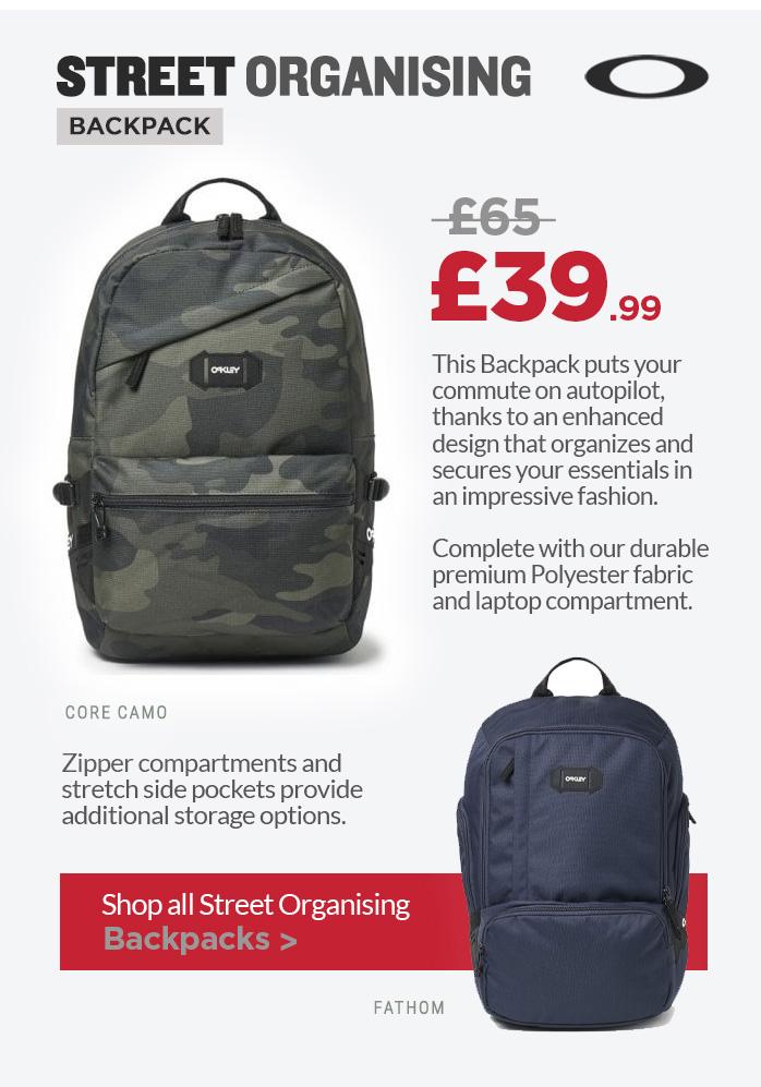 Oakley Street Organising Backpack