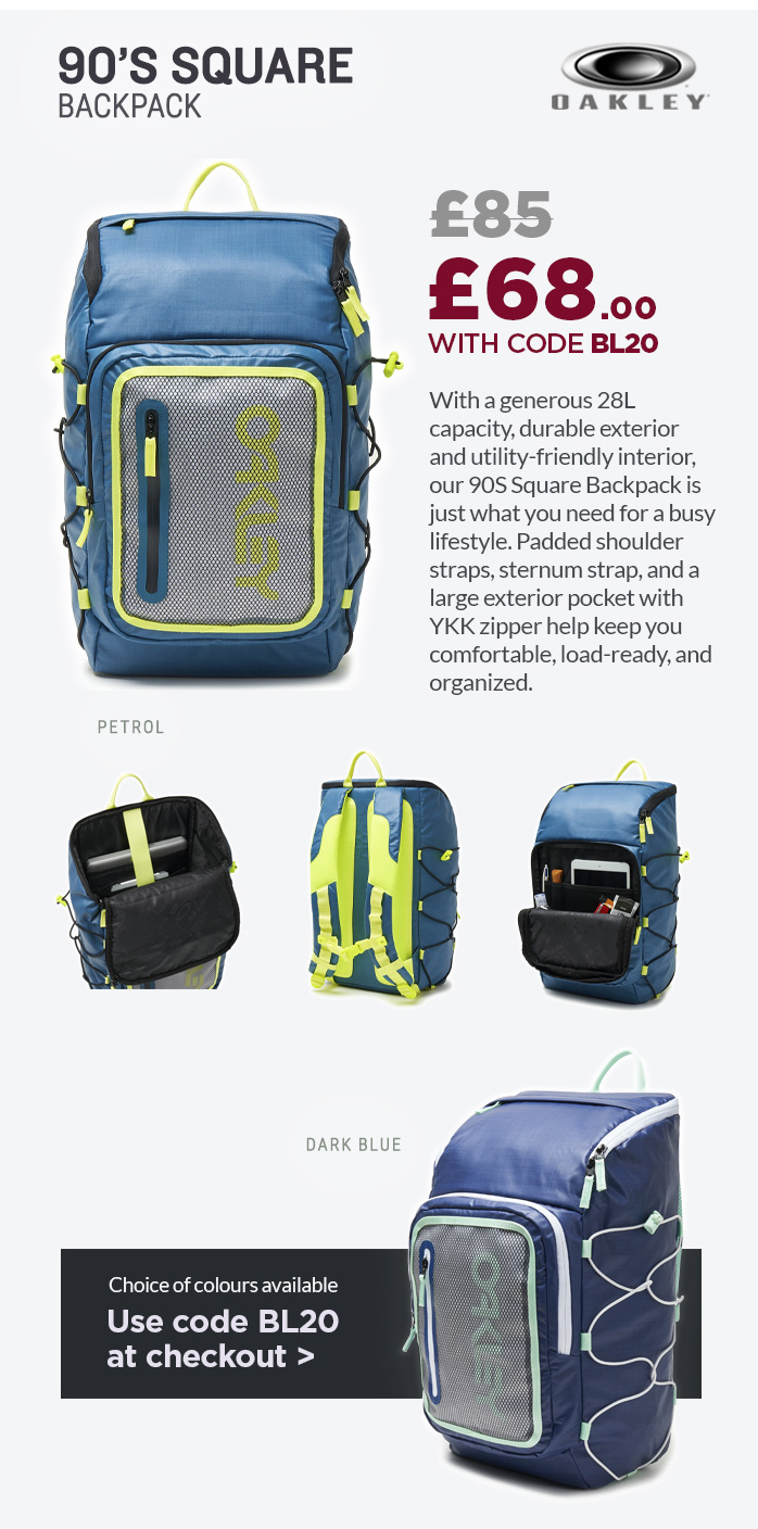 Oakley 90s Square Backpack
