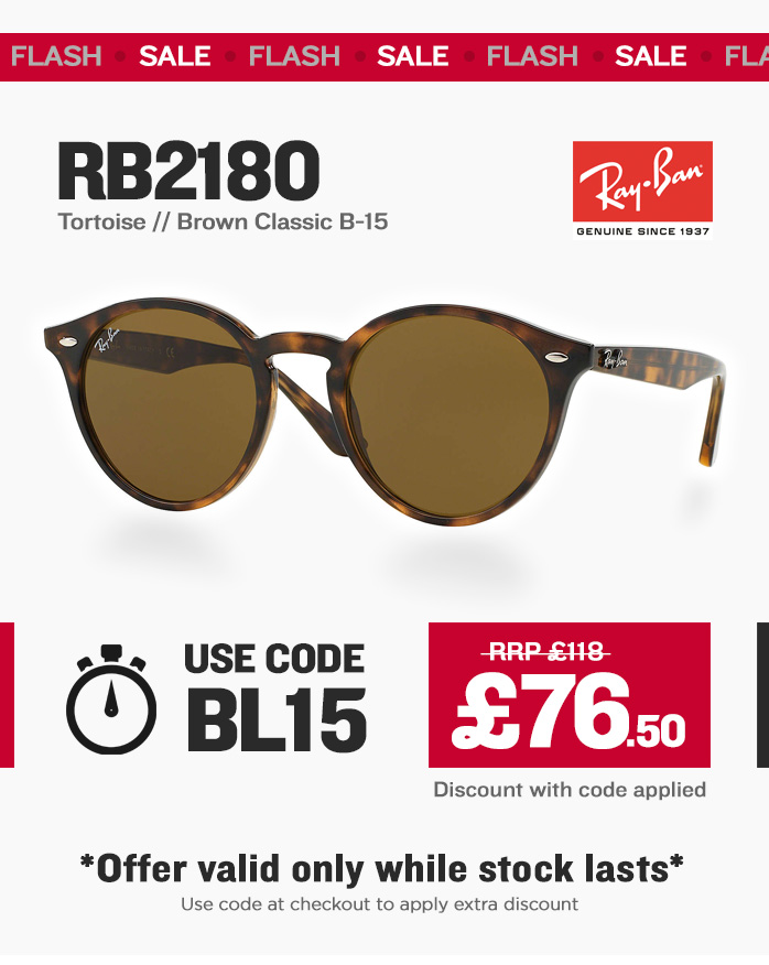 Black Friday - Ray-Ban RB2180