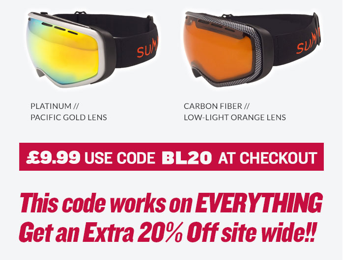 Black Friday Summit Goggle
