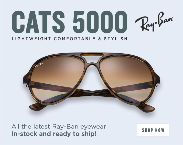 Shop all Ray-Ban Cats 5000 Sunglasses