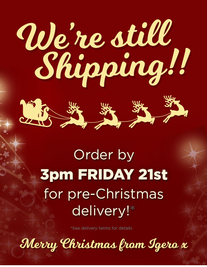 Last Delivery, Plus an Extra 20% Off all Christmas orders