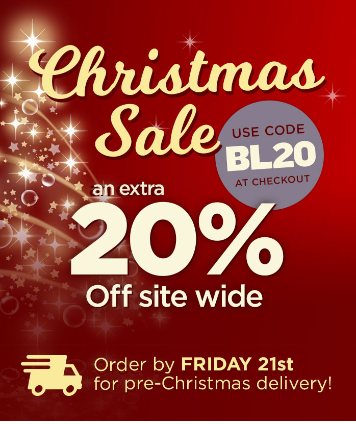 Extra 20% Off all Christmas orders