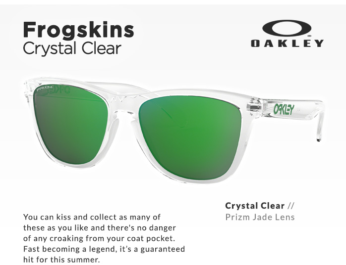 Shop by Style | Crystal Clear Frogskins