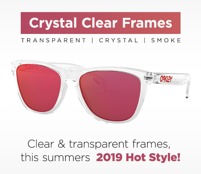 Shop by Style, Clear transparent frames
