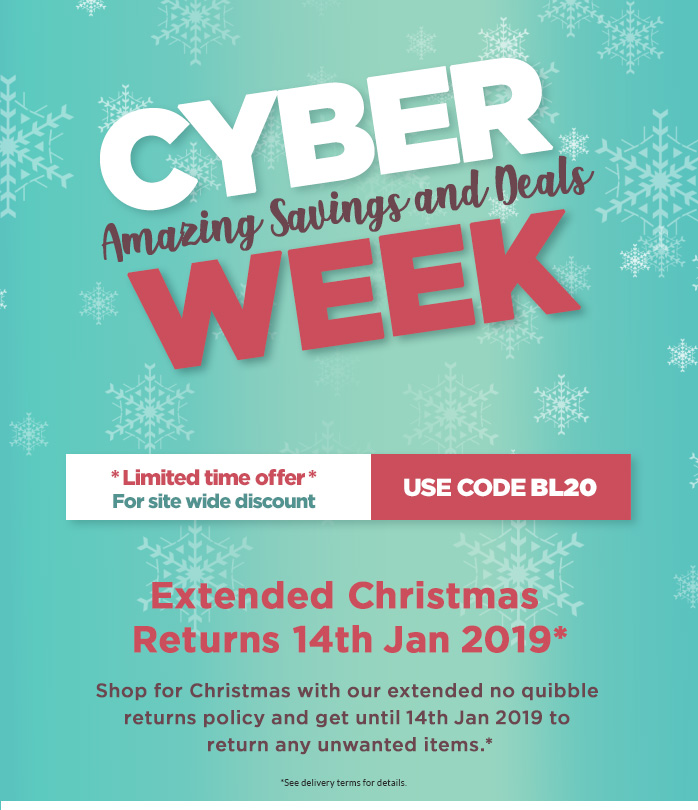 Cyber Monday - Extra 20% Off Everything