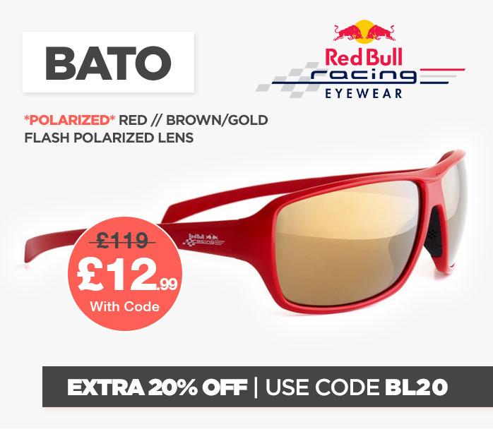 Cyber Red Bull BATO Sunglasses
