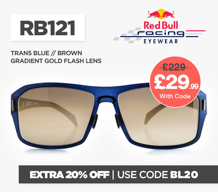 Cyber Red Bull RB121 Sunglasses