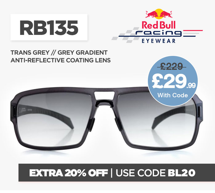 Cyber Red Bull RB135 Sunglasses