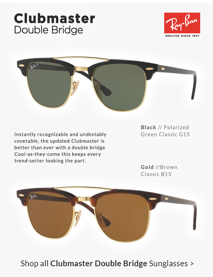 Shop by Style | Clubmaster Double Bridge