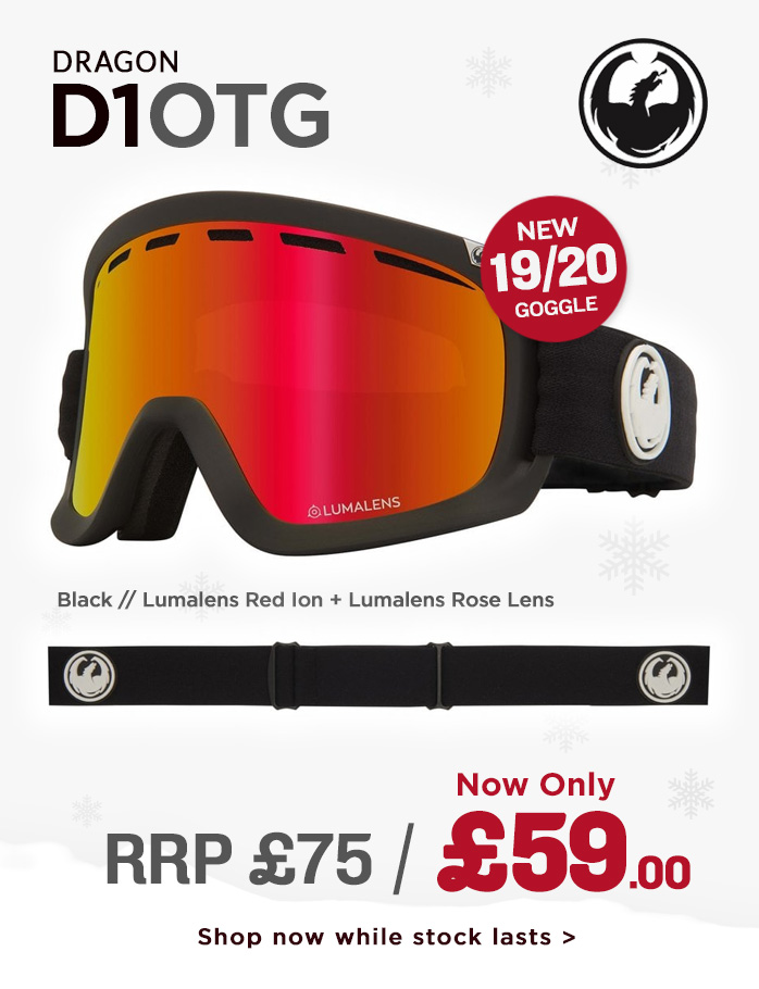 Dragon Goggle Sale - D1OTG
