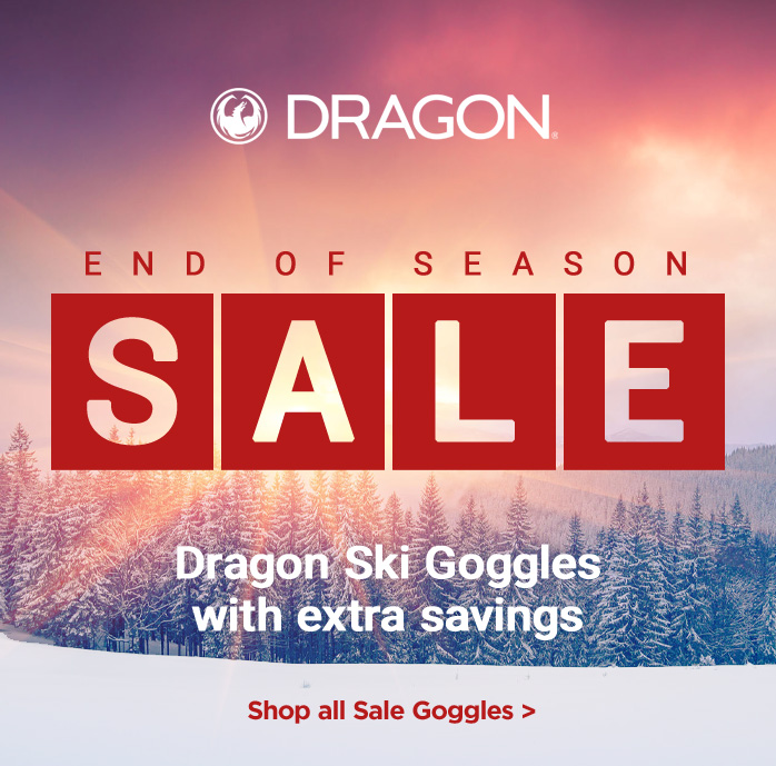 Dragon Ski Goggles, Extra 20% Off