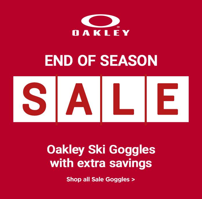 Oakley Ski Goggles, Extra 20% Off