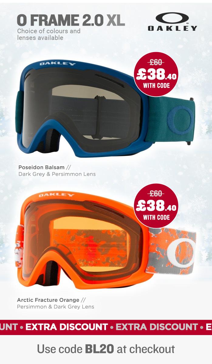 Oakley O Frame 2.0 XL Goggles