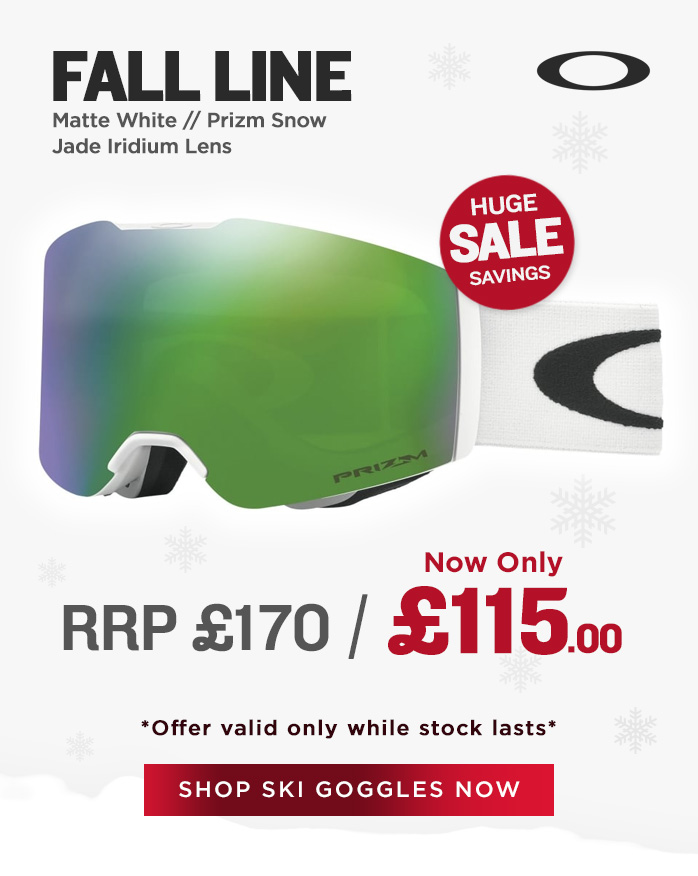 Oakley Goggle Sale - Fall Line