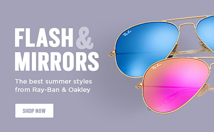 Shop by Style, Flash and Mirror lenses