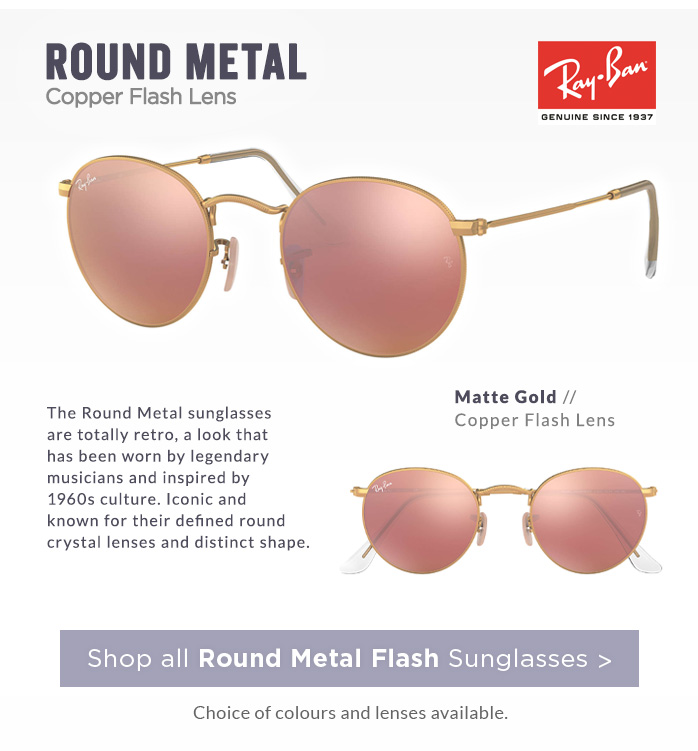 Shop by Style | Flash Round Metal